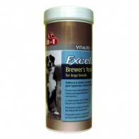 8 in1 Excel Brewers Yeast for Large Breeds, 80шт